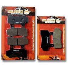 Harley FR+R Brake Pads FLHR FLTR FLTRX FLTRU FLHTC FLHTCU FLHT FLHX (2008-2014)