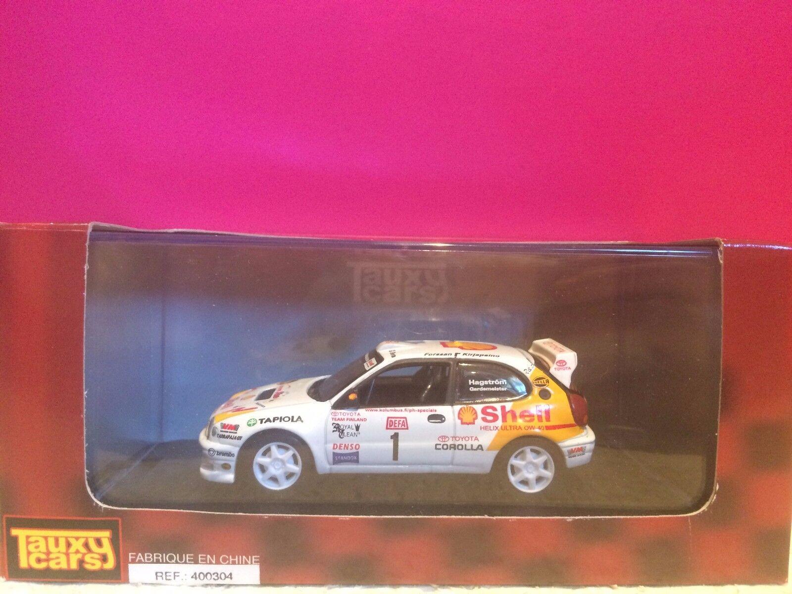 TAUXY CARS TOYOTA CgoldLLA WRC 98 NEUF EN BOITE 1 43 H7