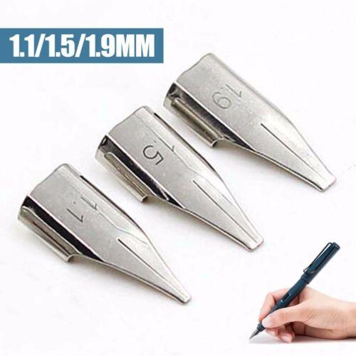 1.1mm//1.5mm//1.9mm Stift Feder Federspitze Kalligrafiefeder Zubehör für Lamy  Z50