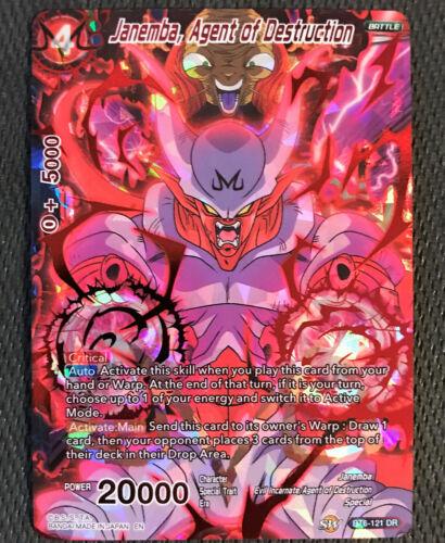 Janemba Agent of Destruction BT6-121 DR Dragon Ball Super TCG Near Mint