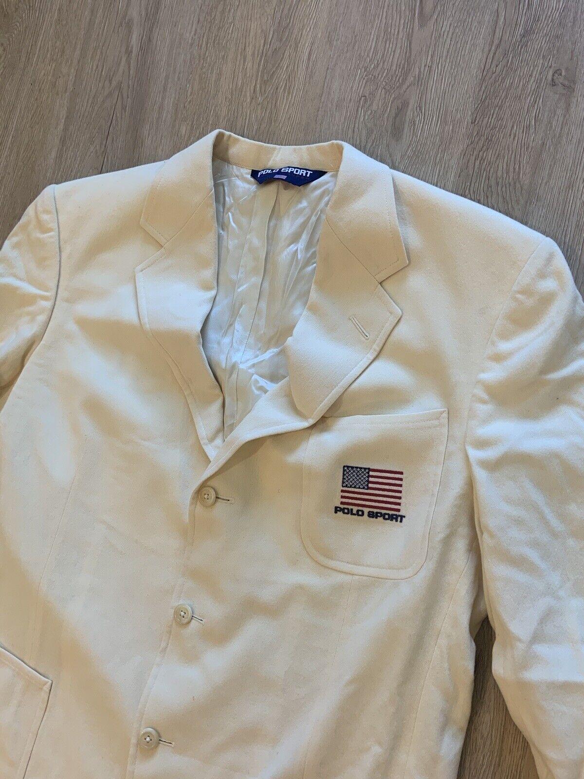 Vintage Polo Sport Sport Jacket - image 1