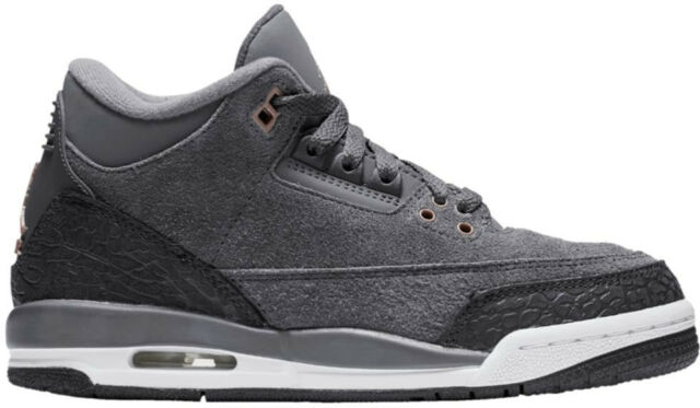 premium selection 18a74 dd5f3 Nike Big Kids  Air Jordan 3 RETRO GG Shoes Dark Grey 441140-035 b