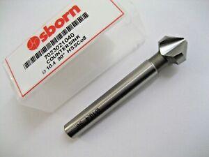 "5//8/"" x 90° One Flute Countersink 3//8/"" Shank Melin Tool USA TiN Coated Cobalt"