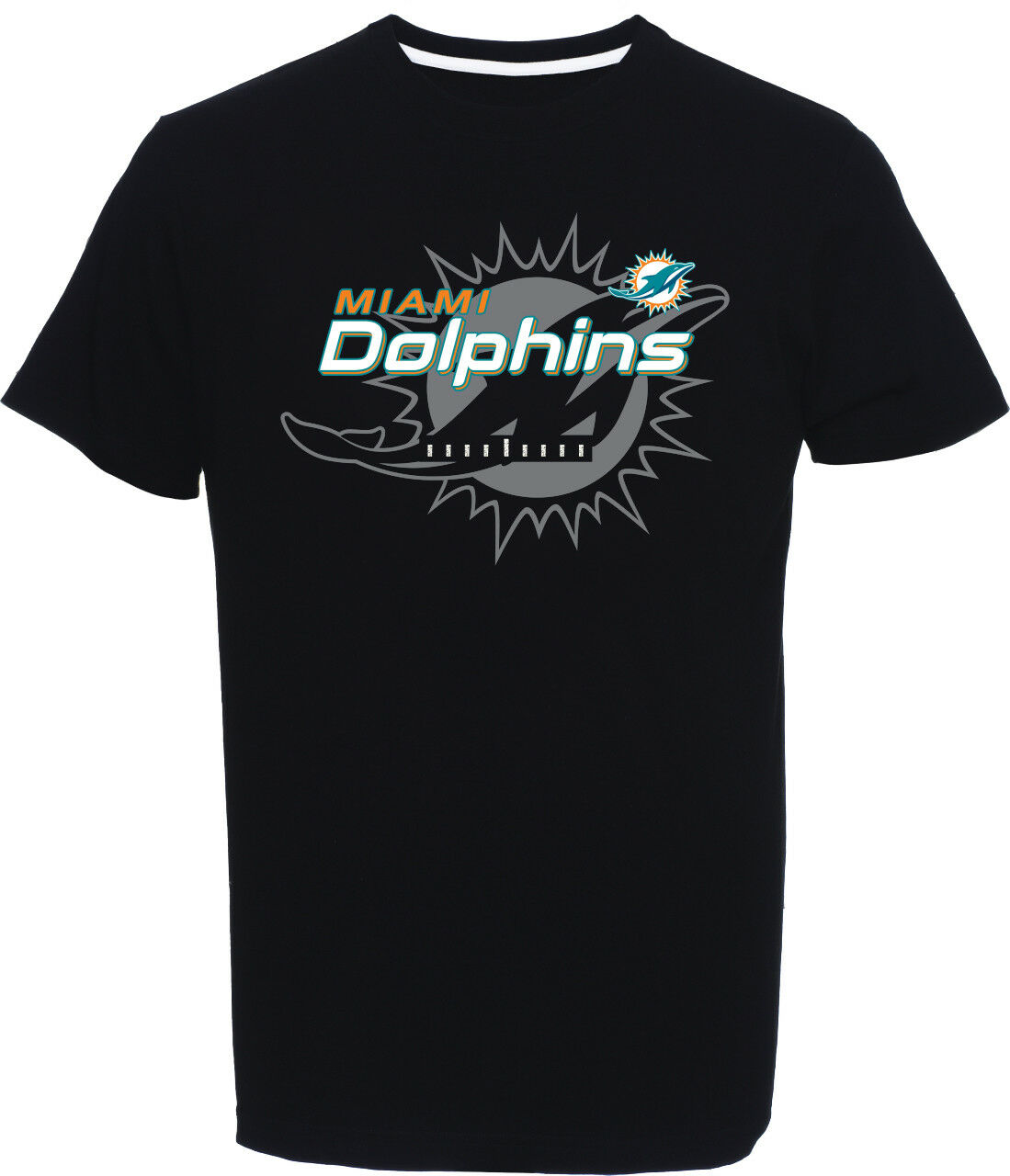 NFL Football Miami Dolphins T-Shirt Tee Great Value Value Value Logo schwarz c405ba