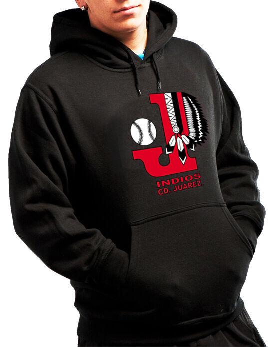 Indios de CD. Juarez Baseball Men's Sweatshirt With Cap