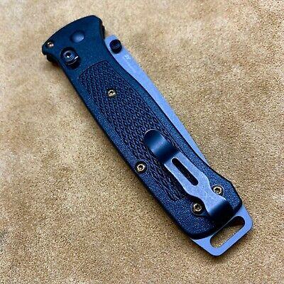 Titanium Deep Pocket Clip /& Handle Screws For Benchmade Bugout 535 /& Bailout 537