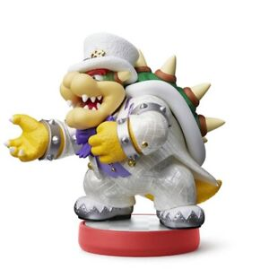 Nintendo Amiibo Bowser Super Mario Odyssey Wedding Outfit Action Figure 2007466