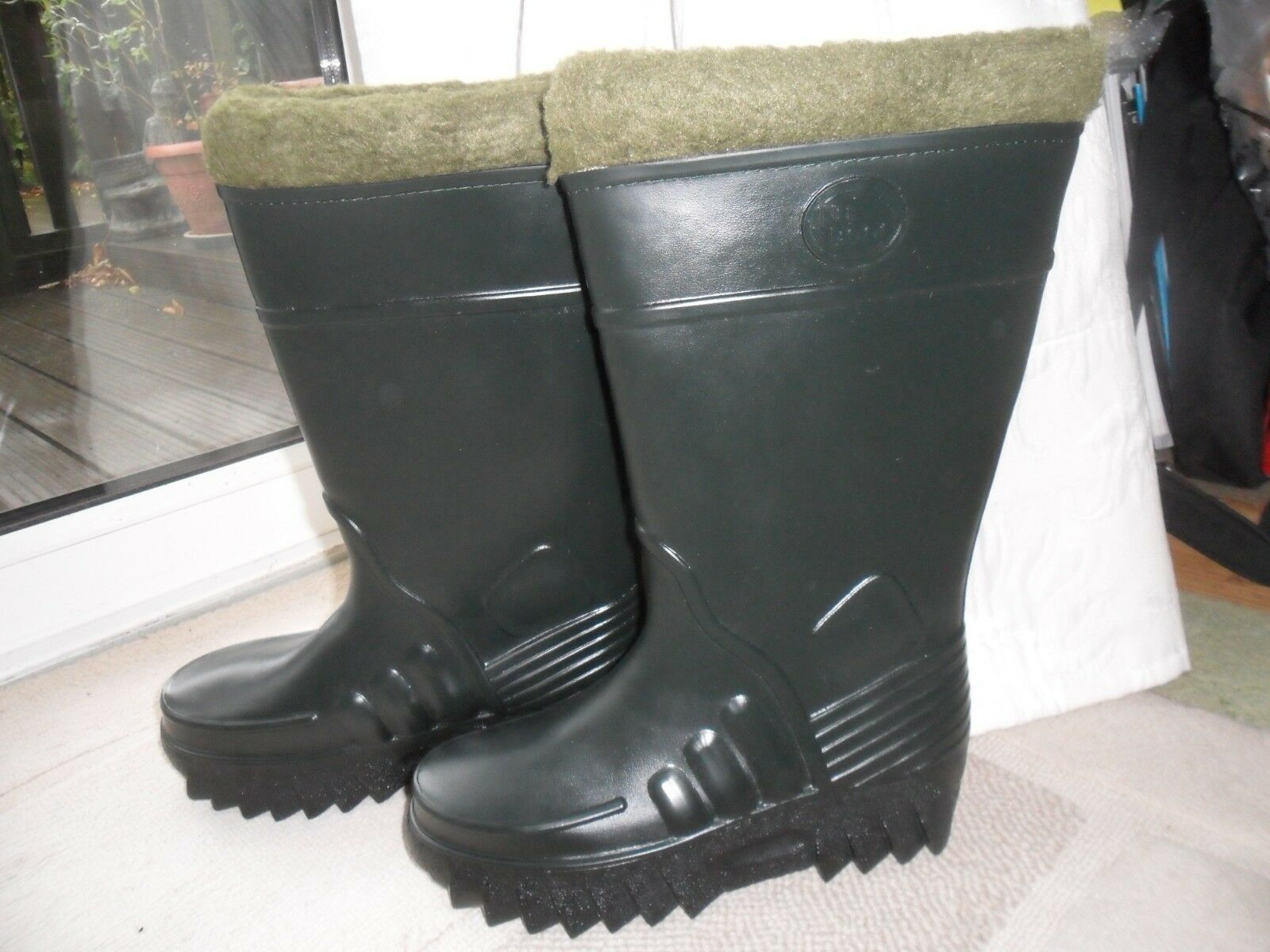 Nu-Fish Nu Boot Welly Fishing Outdoor Boot Size 6