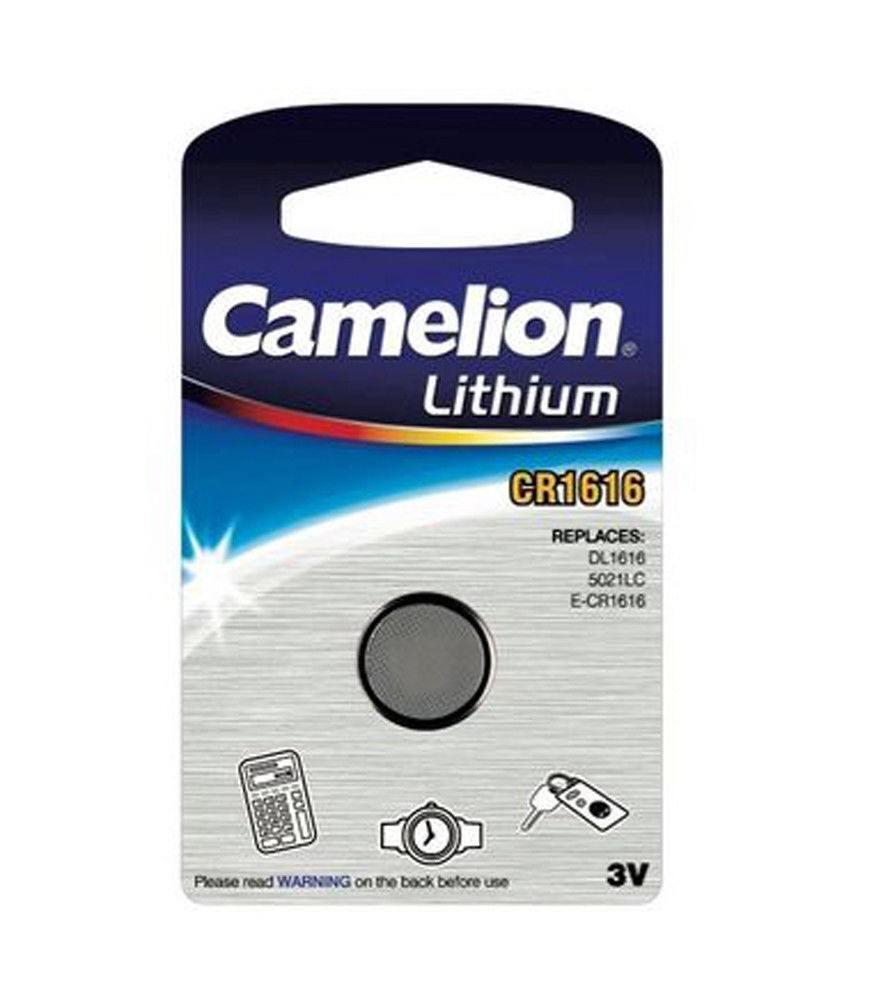 Camelion Lithium Coin Cell CR1616 ECR1616 3V Battery ORIGINAL...