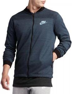 837008 464 Blue Chaqueta punto Size Squadron Nike Sportswear s Xl 100 Men de qIwZp