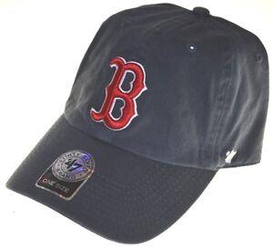 60d7a7878819e MLB Boston Red Sox Men s  47 Brand Home Clean Up Cap
