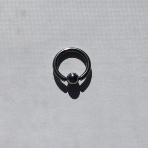 12g CBR Captive Bead Ring Body Piercing Stainless Steel