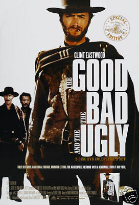 The good the bad and the ugly #13 movie poster print