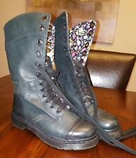 Dr. Martens Women`s Triumph 1914 W Boot Dark Green Floral US 7 EU 38 UK 5