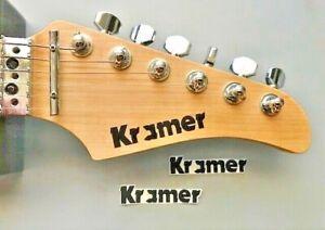 Kramer Guitar Beak Neck Sticker Evh Frankenstrat Jump Eddie Van Halen Rock Ebay