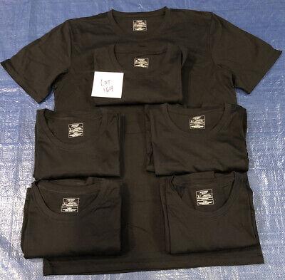 Jockey Signature Premium Mens White T-Shirts Pima Cotton L Large Crew Neck 6 Pk
