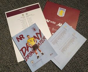 Aston-Villa-v-Manchester-City-Matchday-Programme-with-colour-teamsheet-12-01-20