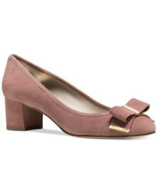 Michael Kors Kiera Bow Pump Shoes Dusty