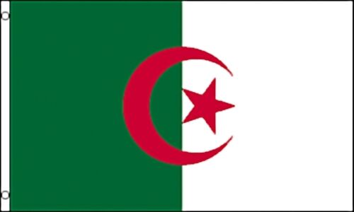 Free Shipping Large 3/' x 5/' High Quality 100/% Polyester Algeria Flag