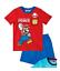 Ninos-Oficial-verano-manga-corta-camiseta-amp-Pantalones-Cortos-Pijama-3-12-anos