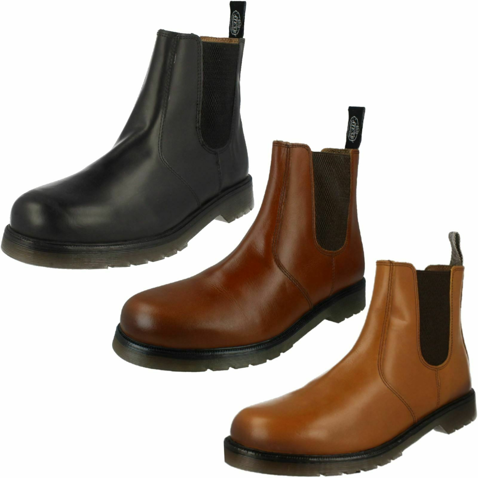 Catesby Mens Smart Pull On Dealer Boots - 01700
