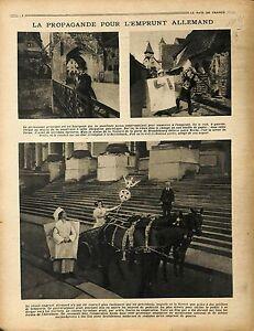 "Berlin Porte de Brandebourg Brandenburger Tor Victory Statue Victoire 1917 WWI - France - Commentaires du vendeur : ""OCCASION"" - France"