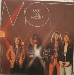 MOTT-THE-HOOPLE-MOTT-LP-GF-USA-Ian-Hunter-70s-Rock-rare-oop-L-K
