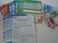 Lakeshore Learning Phonics Kit-short Vowels Ages 6+