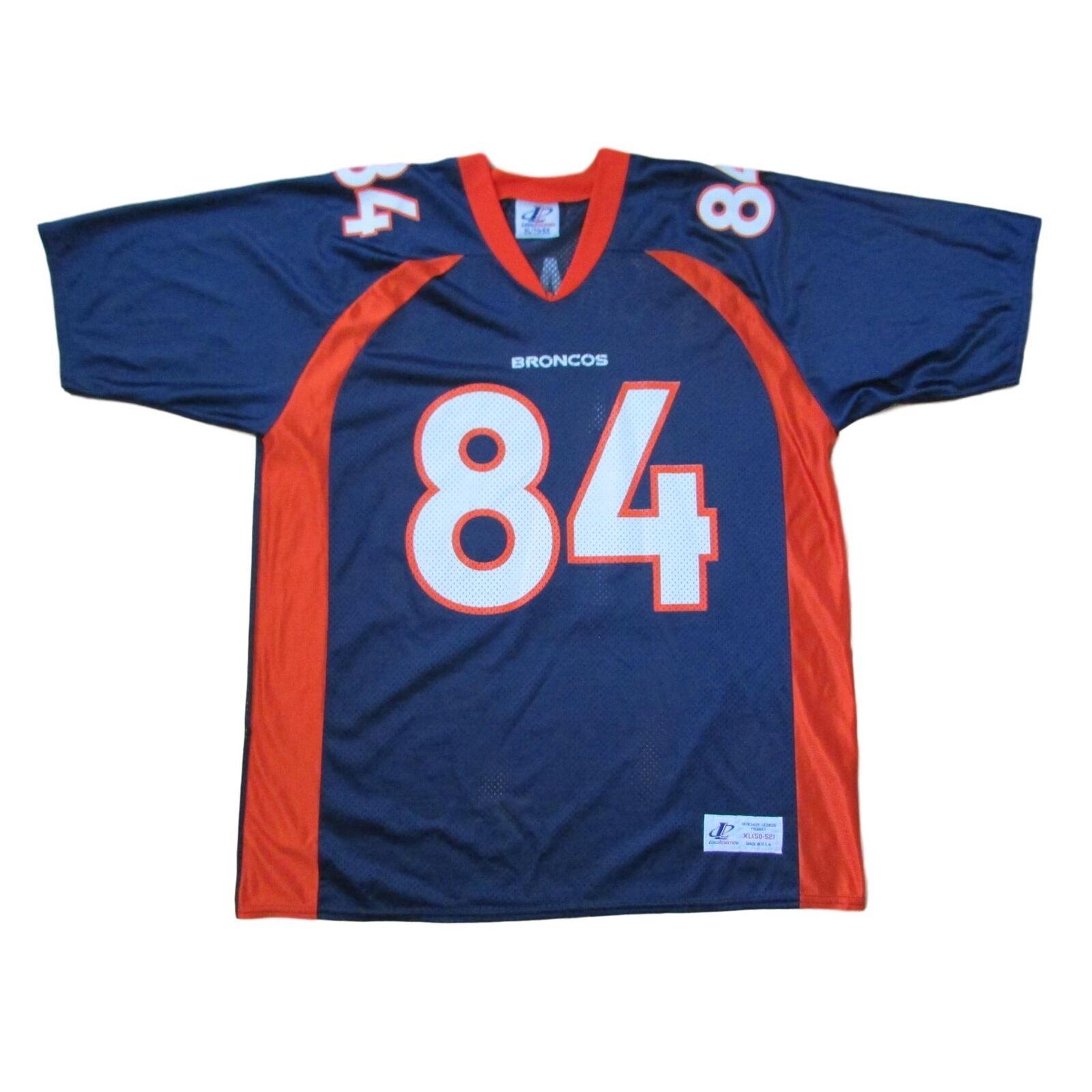 Denver Broncos Vintage Shannon Sharpe Jersey Logo Athletic Sz XL