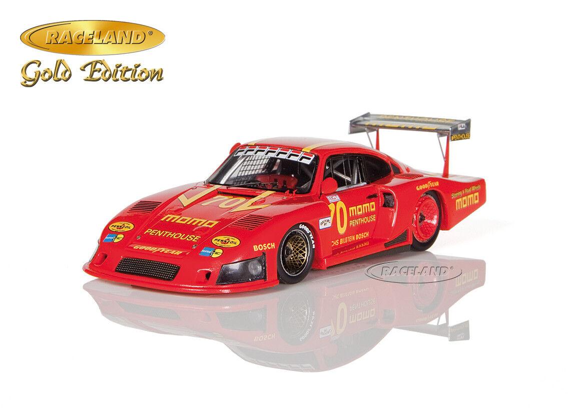 PORSCHE 935 78 Momo 2 ° DRM Norisring 1981 Gianpiero Moretti, RACELAND Spark 1 43