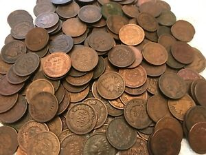 ONE-Indian-Head-Cent-Penny-Original-Condition-Authentic-Year-of-our-choice-Save