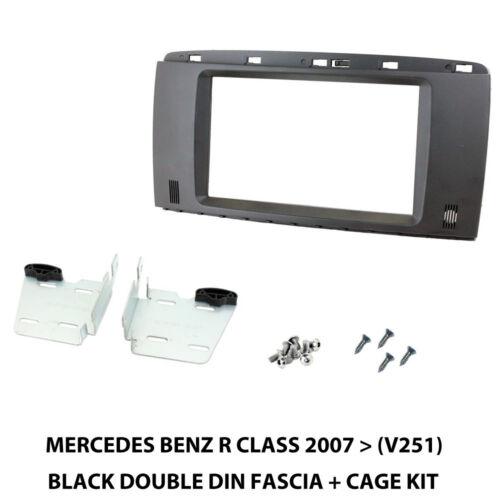 Mercedes R Class 2007 Onwards V251 Double Din Black Fascia Panel CT23MB07