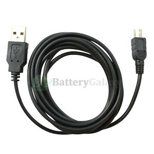 1 2 3 4 5 10 Lot USB 6FT Sync Charger Cable Cord for Sony Camera Cybershot DSC