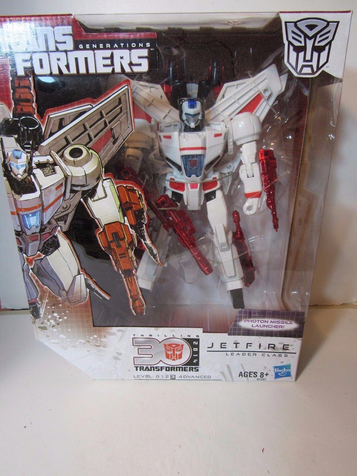 Transformers Generations 30th Anniversary Leader Class Jetfire figure MISB