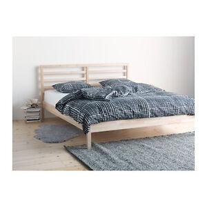 Ikea Tarva Struttura Letto Pino 28 Doghe Lonset 140x200 Cm Ebay
