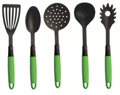 cuisine spaghetti Cuillère soupe Kelle spatule 5tlg