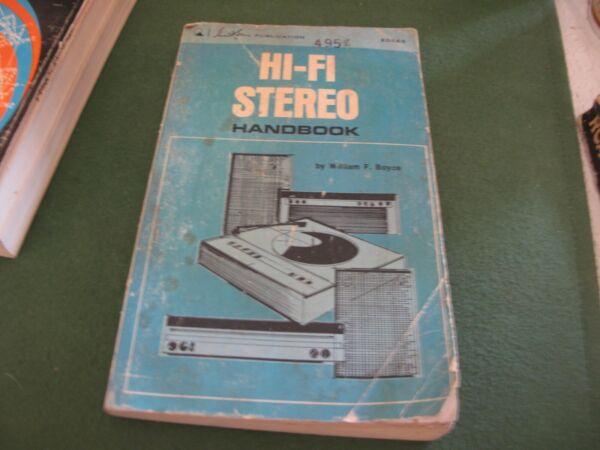 Vintage Hi Fi Stereo Handbook William F Boyce 1969 Knappe Verschijning