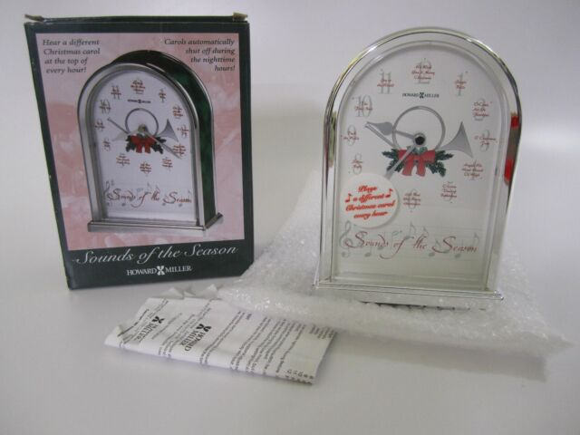 Howard Miller 645-687 Sounds of the Season Christmas Clock by 645687
