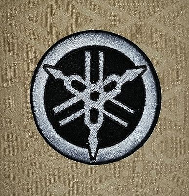 YAMAHA Tuning Fork Motorcycle Clasic Racing Iron/ Sew-on Embroidered Patch/ Logo