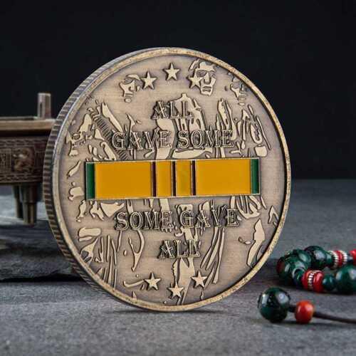 Vietnam War Veteran Commemorative Coin Collection Arts Gifts Souvenir