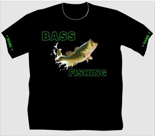 Anglershirt Barschangeln Barsch Bass Fishing Angler T Shirt fangen köder 147