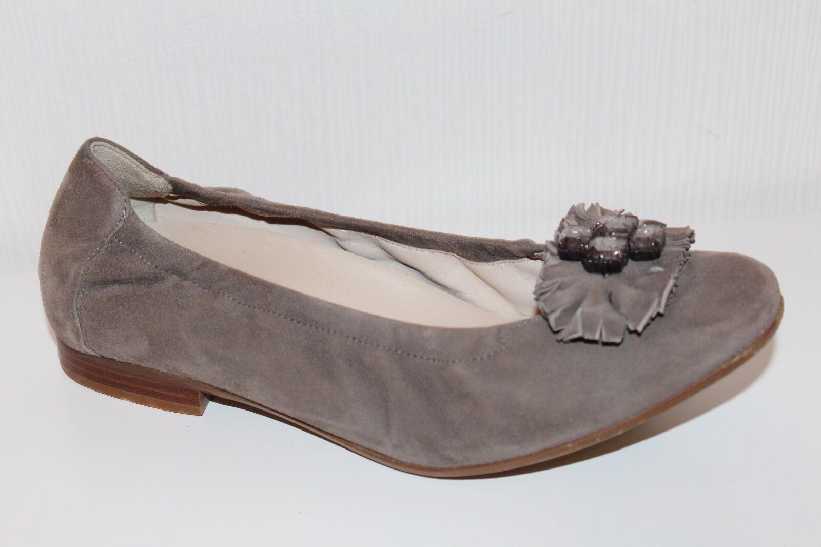 Marc Scarpe donna ballerine 39 uk6 leather flats echt Leder Camoscio ORIGINALI
