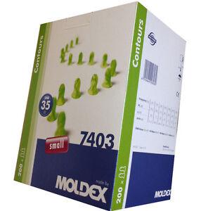 Zatyczki do uszu 10 Pairs Moldex Contours 7400 Earplugs Standard Size SNR:35db Ear plug