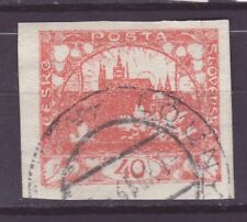 Tschechoslowakei CSR Nr.     7  gest.   Hradschin Prager Burg      -9