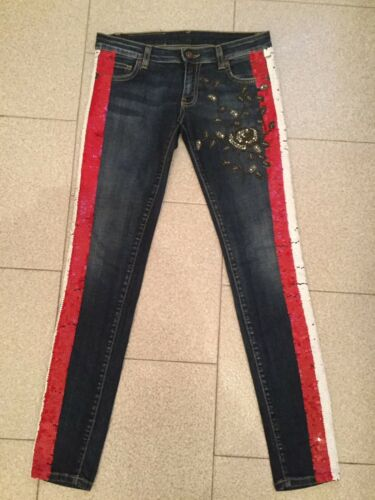 Skinny 36 28 Val Jean Cristaux Paillettes 34 Decor T 5 Marque Magnifique 350€ q5vxwPtt