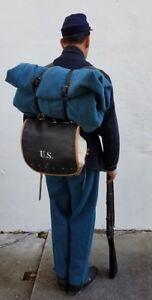 Pelle Cappotto Cinghie Per M1872 Valigia Equipment - Uno Paio
