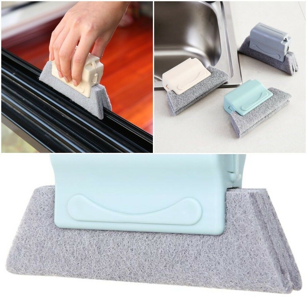 Cleaning Brush Window Tool Sweep Sill Door Track Gap Groove Dust Cleaner Kitchen