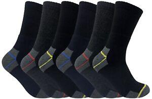 3-6-12-24-Paires-Coton-Qualite-Chaussettes-de-Travail-Lot-pour-Hommes