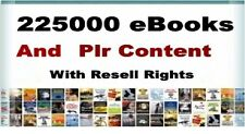 225000  Plr eBooks Package Collection |  With Master Resell Right | PDF Format