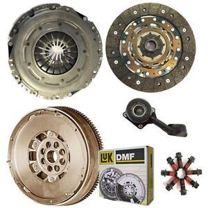 EMBRAGUE-LUK-Doble-Masa-Rigida-Volante-CSC-Kit-de-4-Piezas-Para-Ford-Galaxy-MPV-2-0-TDCi